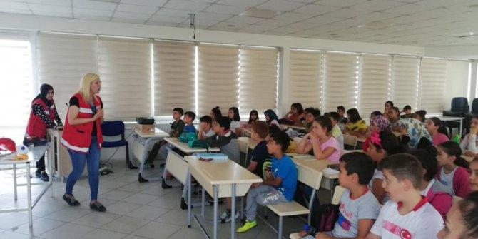 Mamak'ta çocuklara güvenlik eğitimi