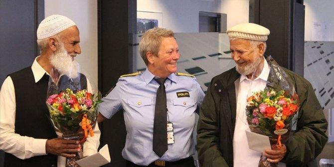 Norveç polisinden cami saldırganı engelleyen 'kahramanlara' teşekkür