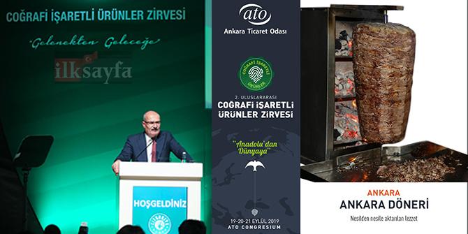 Coğrafi işaretli ürünler Ankara'dan dünyaya tanıtılacak
