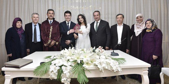 Mamak'ta 2 ayda 800 nikah kıyıldı