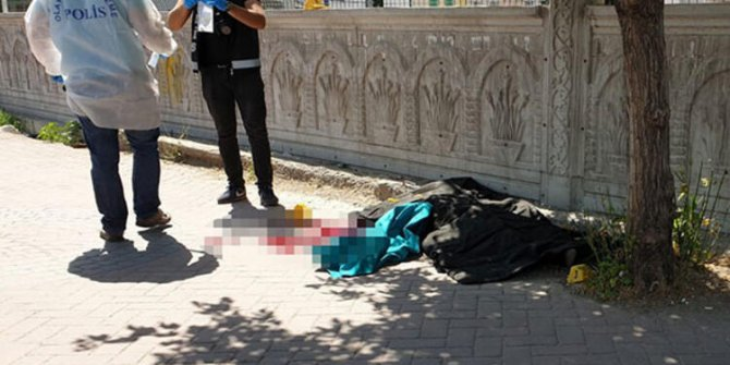 Ağrı'da bir kadın sokak ortasında öldürüldü