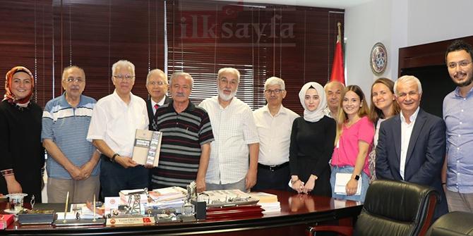 Türkiye Yazarlar Birliği'nden emeklilere ziyaret