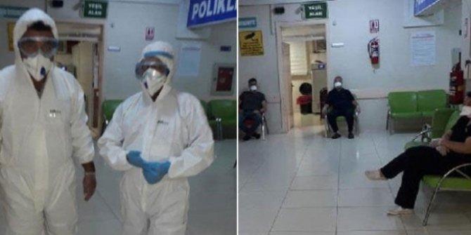 Hassa Devlet Hastanesi karantinaya alındı