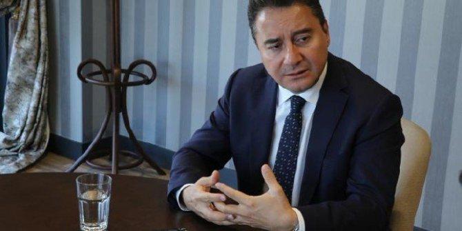 Ali Babacan yeni parti tarihini Karar gazetesine açıkladı