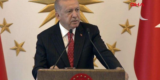 Erdoğan'dan önemli açıklama: Şu anda istediğimiz tavır yok.
