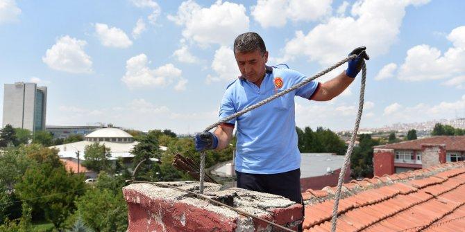 Büyükşehir Belediyesi bacasını erken temizleten vatandaşlara indirim sağlıyor