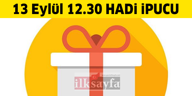 Promosyon nedir? Promosyon kelimesinin TDK'daki Türkçe karşılığı nedir? 13 Eylül 12.30 Mini HADİ ipucu sorusu ve cevabı