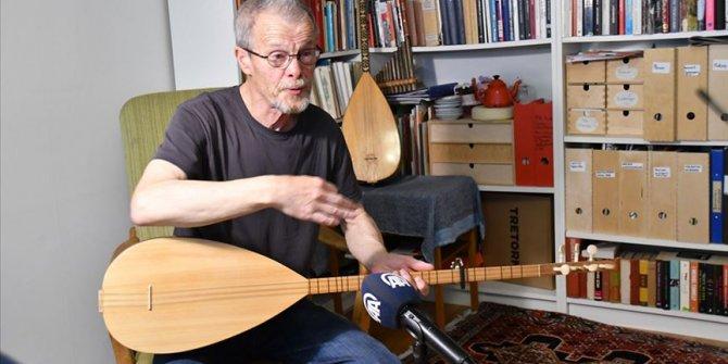 Aşık Veysel hayranı İsveçli ozan 35 yıldır saz çalıp türkü söylüyor