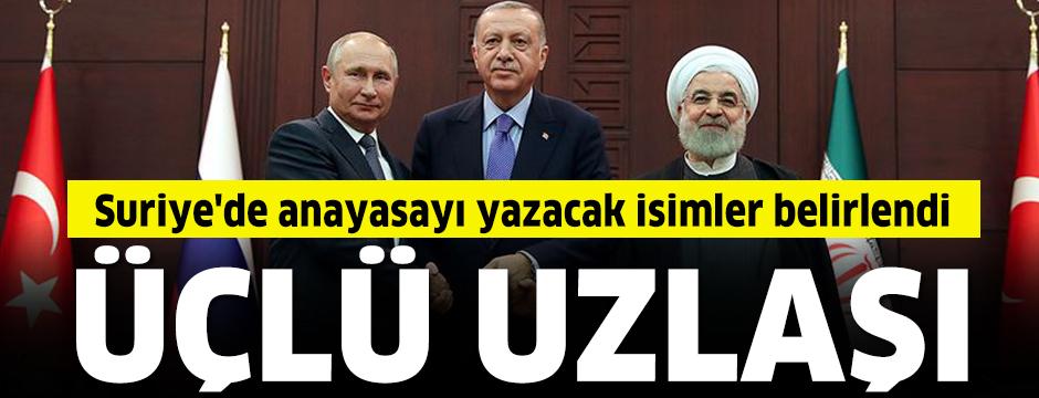 Ankara'daki Suriye zirvesinden Anayasa Komitesi listesinde uzlaşı çıktı