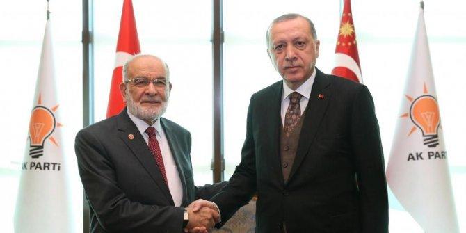 """Karamollaoğlu, Erdoğan görüşmesini anlattı: """"Af hazırlığı var"""""""