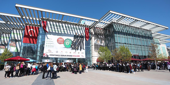 2. Uluslararası Coğrafi İşaretli Ürünler Zirvesi Ankara'da