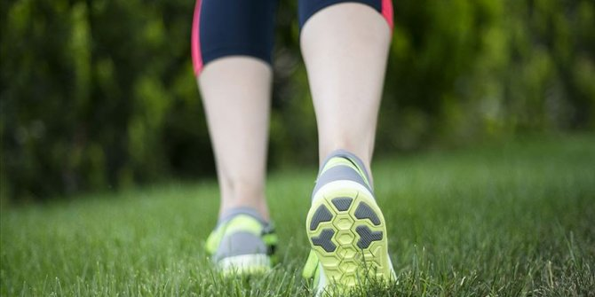 Her gün 30 dakika tempolu yürüyüş sağlığı koruyor