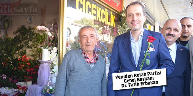 Yeniden Refah Partisi Genel Başkanı Dr. Fatih Erbakan dua ve destek istedi