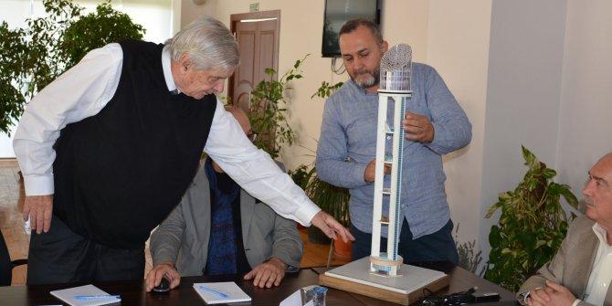 Keçiören Cumhuriyet Kulesi çalışmaları devam ediyor