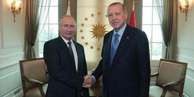 Cumhurbaşkanı Erdoğan Putin ile telefonda görüştü