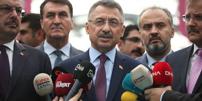 Cumhurbaşkanı Yardımcısı Oktay: Türkiye artık senaryo yazılan değil senaryoları yazan bir ülke