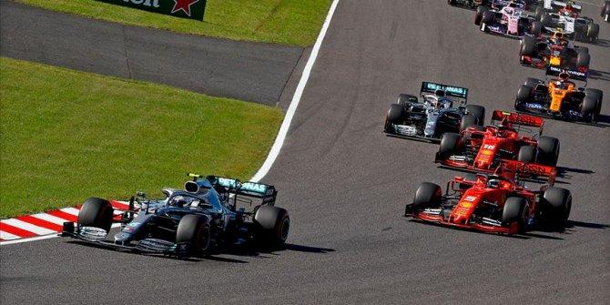 Japonya'da zafer Bottas'ın