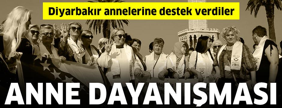 Srebrenitsa annelerinden Diyarbakır annelerine destek