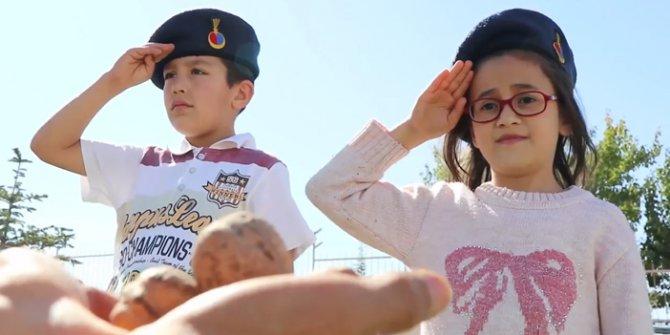 Kaman Belediyesi'nden Mehmetçiğe ceviz dolusu destek videosu