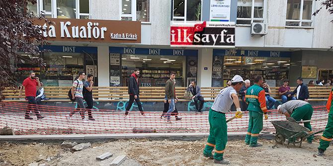 Ankara Kızılay Karanfil Sokak yenileniyor