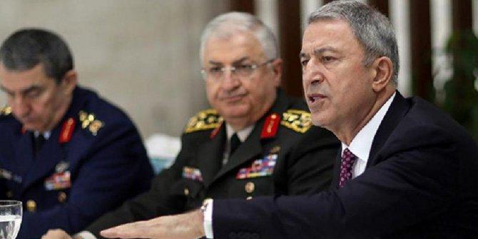 Milli Savunma Bakanı Akar'dan kritik açıklamalar