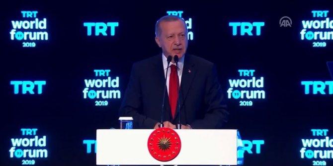 Cumhurbaşkanı Erdoğan: Bize düşen görev yolumuza devam etmektir