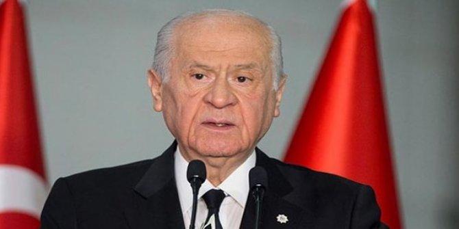 MHP Lideri Devlet Bahçeli'den Semih Yalçın'a taziye ziyareti