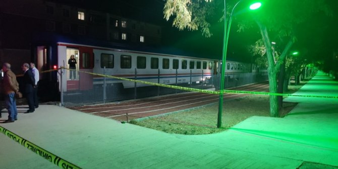 Ankara'da tren kazası