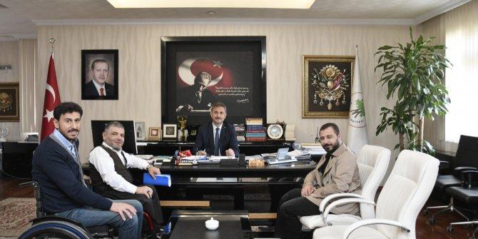 Mamak Belediye Başkanı Murat Köse derneklerin temsilcilerini makamında ağırladı
