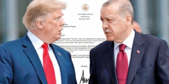 Erdoğan: O mektubu Trump'ın masasına bırakacağım