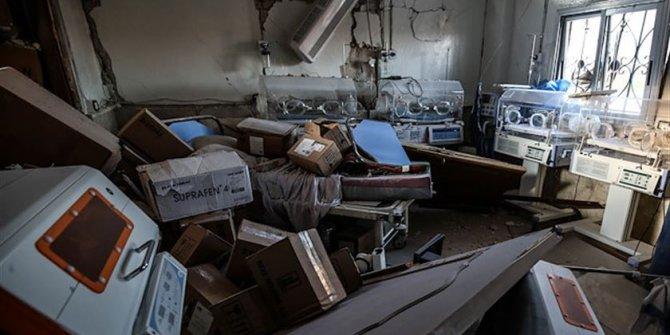 Rusya, İdlib'de çocuk hastanesini hedef aldı
