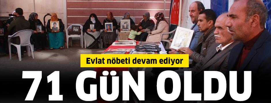 Evlat nöbeti 71. gününde: Yerin dibine batsın PKK ve PYD