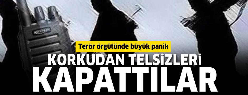 Operasyonlar teröristlerin iletişimini de kopardı