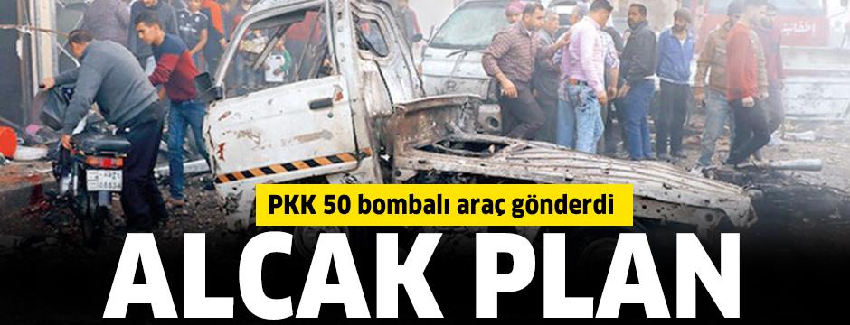 PKK 50 bombalı araç gönderdi
