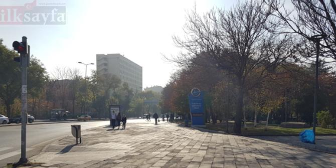 Ankara'da çöplüpe dönünen dev saksılar kaldırıldı