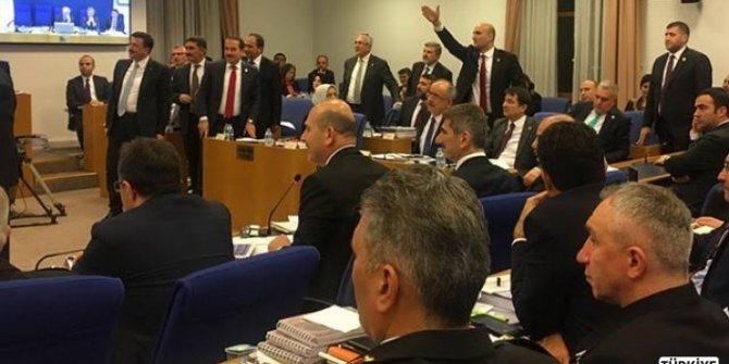 Bütçe Komisyonunda tartışma