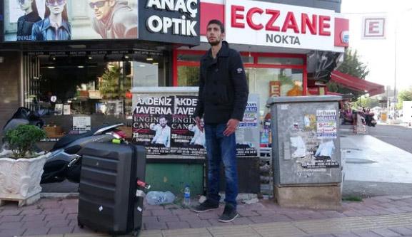 Antalya'da garip olay!