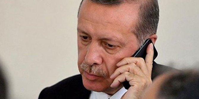 Erdoğan'dan Büyükanıt ailesine başsağlığı telefonu