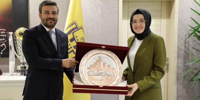 Akyurt Belediye Başkanı Hilal Ayık'tan Ankaragücü'ne ziyaret