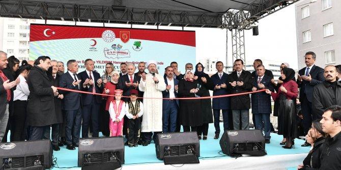 Şehit Ahmet Topçu'nun adının verildiği anaokulu Mamak'ta açıldı