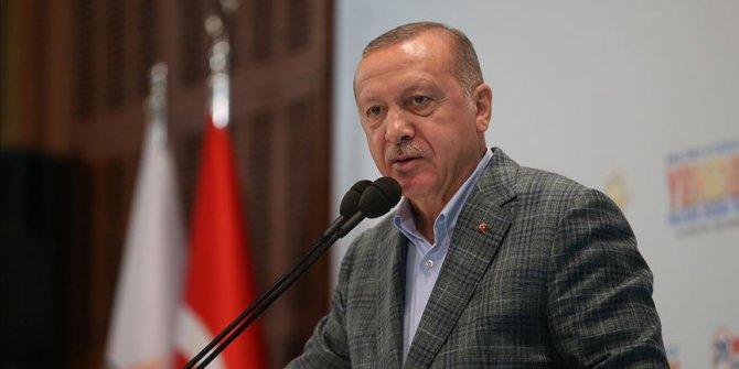 Erdoğan partililere seslendi: Bizi bölmek isteyenlere en ufak fırsat vermememiz gerekiyor