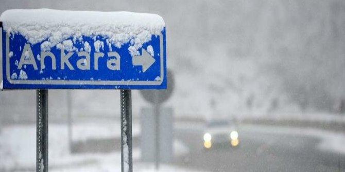 Ankara'ya kar ne zaman yağacak?