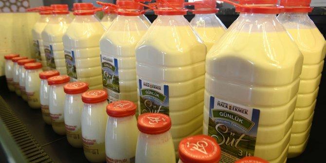 Ankara Büyükşehir Belediyesi Halk Ekmek FabrikasıHalk Süt satışına başladı
