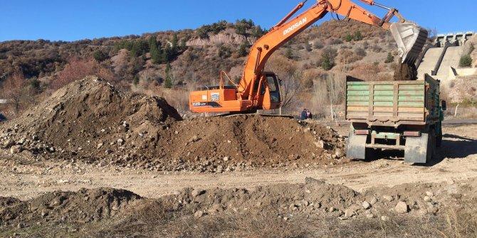 Kızılcahamam'a yapılacak Sınıf Atık Getirme Merkezi'nin inşaat çalışması başladı