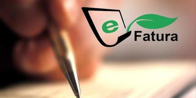 Esnaf ve tüccar için e-fatura uyarısı