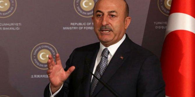 Bakan Çavuşoğlu'ndan 'Libya' açıklaması