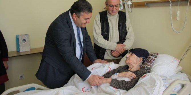 Başkan Baki Demirbaş'tan Hastane ziyareti