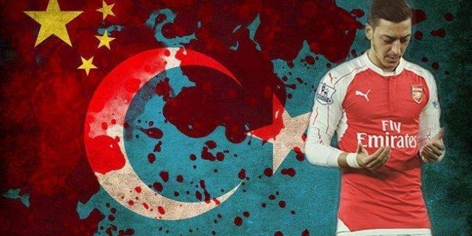 Türk katili Çin'de Mesut Özil telaşı