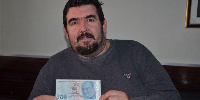 Hatalı basım 100 lira 100 bin liradan satışa çıkarıldı