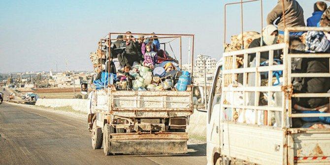 İdlib'de katliam ve göç